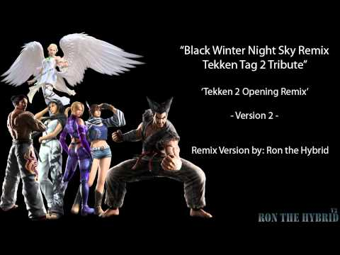 Black Winter Night Sky - Tekken 2 Fighters Remix V2 by RontheHybrid