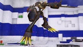 Minecraft : OMNIMON ZWART - Digimon World #23 ‹ MayconLorenz ›