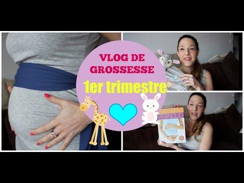 🍼 Vlog de Grossesse #1 : 1er trimestre (symptômes, grossesse à risques, soins utilisés,  etc...)