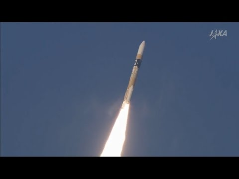 Astro-H Observatory launches on Japanese H-IIA Rocket