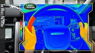 Jaguar Land Rover Sensory Steering Wheel