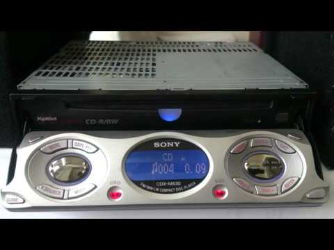sony cdx m630 review (old school) youtube Sony Cdx M800 Wiring Diagram