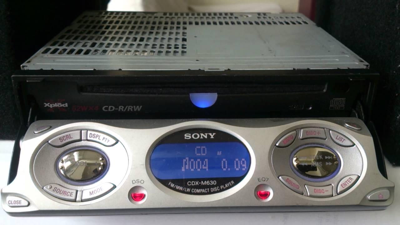 sony cdx m630 review old school youtube sony cdx m630 wiring diagram [ 1280 x 720 Pixel ]