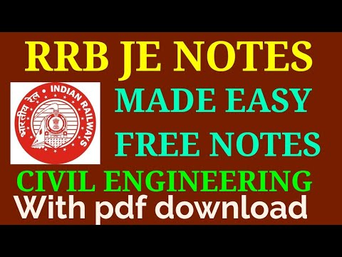 Made Easy Civil Engineering Notes Pdf