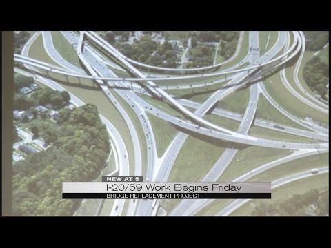 I-20/59 Work Begins Friday