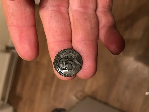 Metal Detecting Uk.with the Equinox Machines Find 56 Ancient Roman Coins And a Roman Fibula
