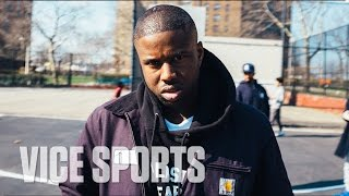 pick up ball with a ap twelvyy at castle hill projects