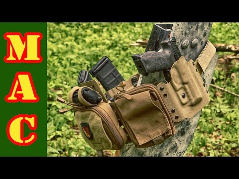 High Threat Concealment Low-Pro Gun Rig