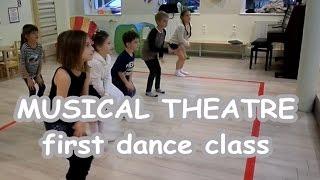 Хореография для детского мюзикла. MUSICAL THEATRE school for children.