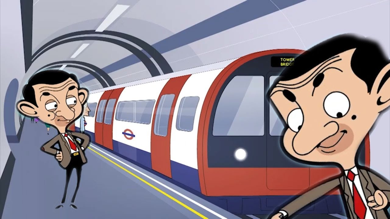 LONDON Bean | Funny Episodes | Mr Bean Cartoon World
