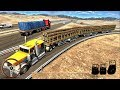 Long Trailer Truck Wood Cargo Logging Simulator | Android Gameplay FHD
