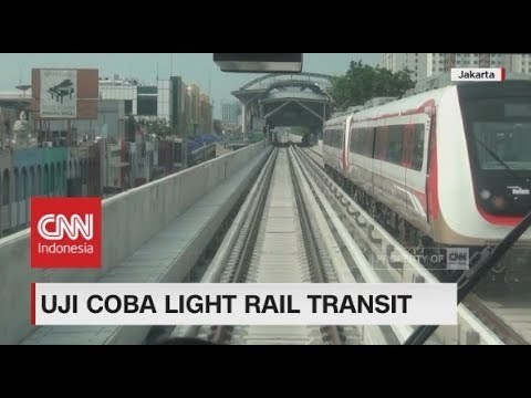 Uji Coba Light Rail Transit - LRT Jakarta Mp3