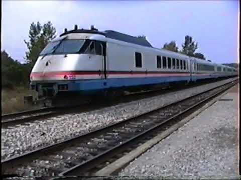 "Amtrak Rohr  RTL Turboliners 1990's New York's Empire Service"""