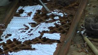 China Furniture And Arts -- Carved Wood Furniture: The Process