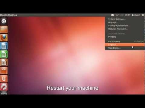Ubuntu 12.04 - Setting a Static IP