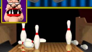 World Class Bowling Deluxe v2.00 MAME Gameplay video Snapshot -Rom name wcbowldx-