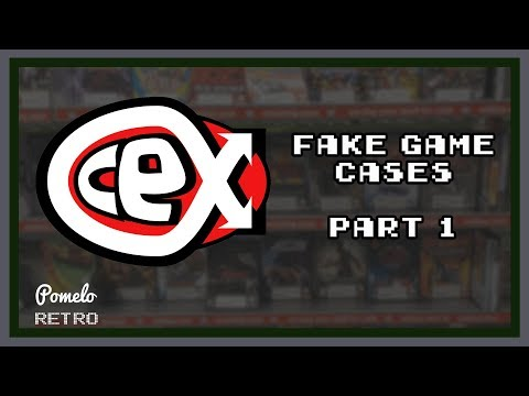 CEX illegally printing fake game cases Part 1   Pomelo Retro