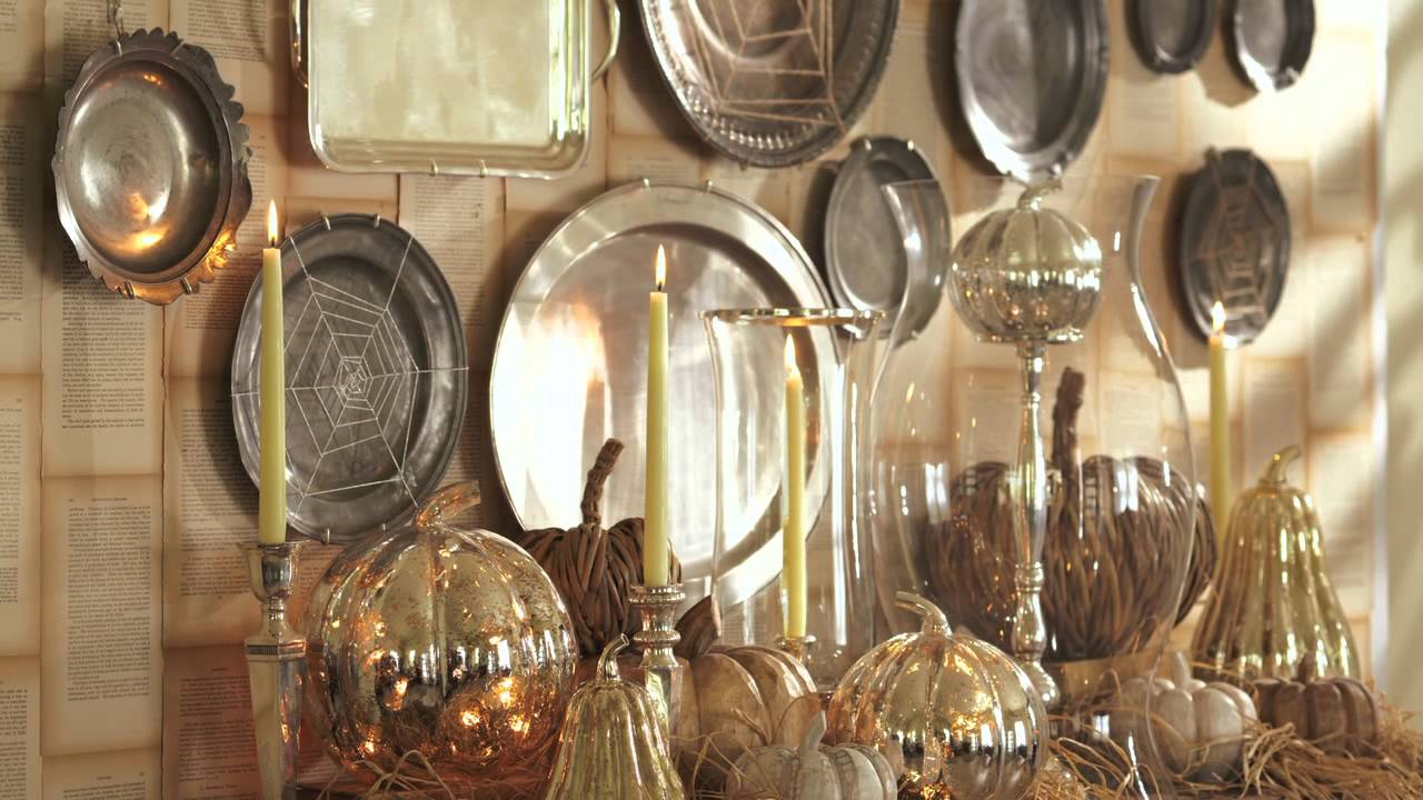 how to decorate an open house halloween party with jeffrey moss pottery barn youtube - Pottery Barn Halloween Decorations
