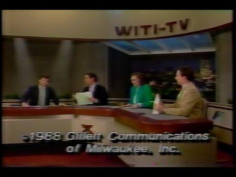 WITI  TV6  Saturday Report January 09, 1988 12 min 50 sec