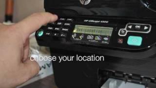 HP Officejet 4500 Hardware Setup