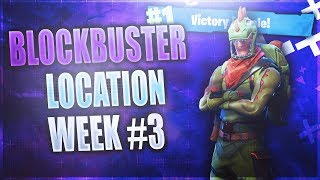 Week 3 FREE Battle Star LOCATION! *FREE* Battle Pass Tier (Fortnite Blockbuster Challenge Week 3)