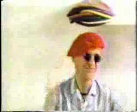 captain sensible on cereal commercial