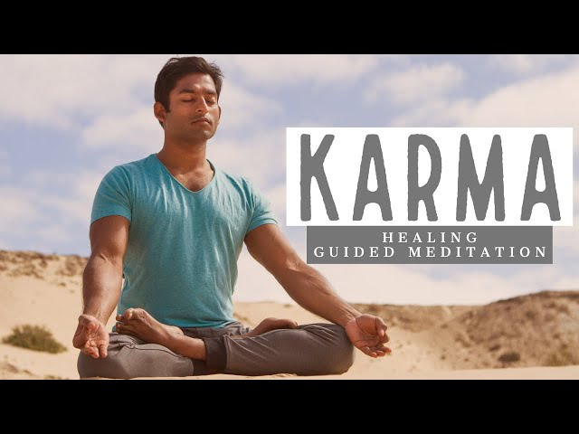 Karma Healing by Activating Heart Chakra ❤: Step-by-Step Guided Meditation