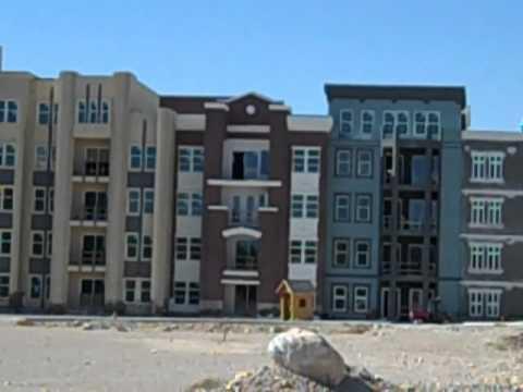 Manhattan West- Southwest Las Vegas Condo sits vacant
