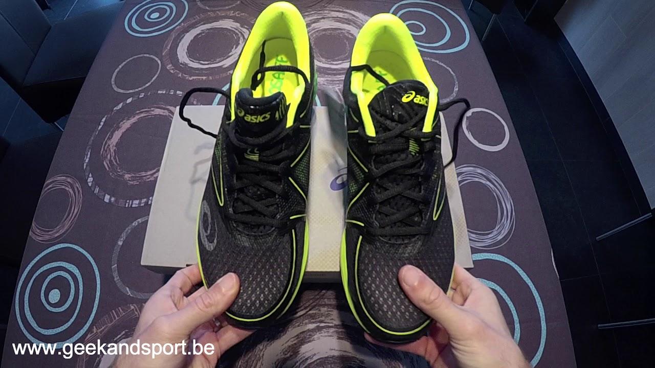 Test de la paire de chaussures Asics Fuzex Geek & Sport