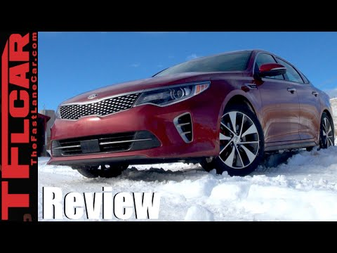 2016 KIA Optima Turbo Snow Drive Review Same as it ever was