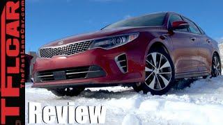 2016 KIA Optima Turbo Snow Drive Review Same as it ever was