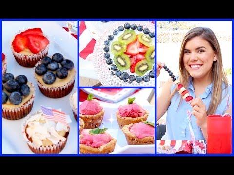 Healthy & Yummy 4th of July Treat Ideas!