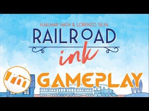 Recensioni Minute Gameplay [007] - Railroad ink (base + espansioni)