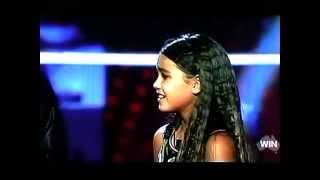vuclip The Voice Kids Australia winner Alexa Curtis-Colours Of The Wind (CD version with footage from show)
