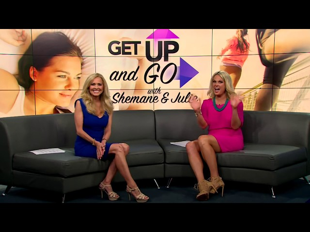 Get Up and Go with Shemane & Julie!