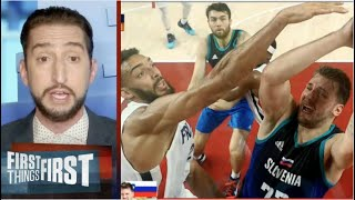 [BREAKING NEWS] Nick Wright in SHOCKED Luka Doncic makes history in Olympic semifinal loss to France