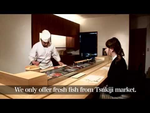 HOW TO EAT SUSHI !! MARUKA in ROPPONGI MINATO TOKYO JAPAN
