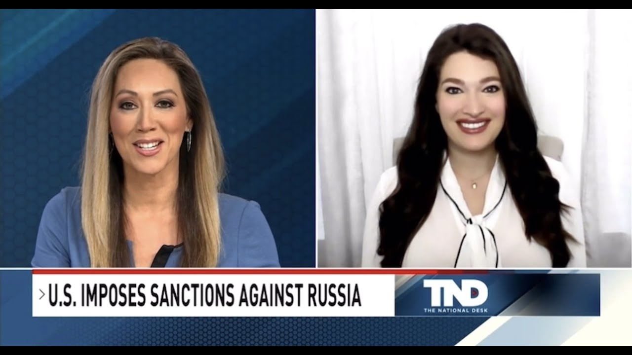 The National Desk (Sinclair): Biden's Sanctions Against Russia Post-SolarWinds