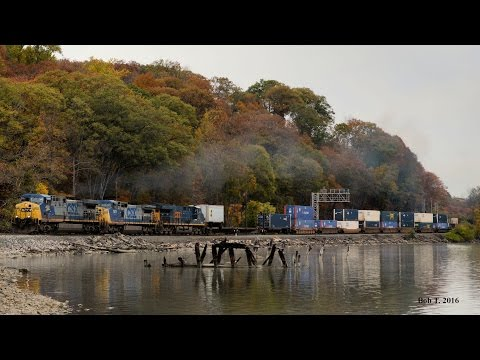 CSX (Mostly) at Fort Montgomery, NY 10/29/16