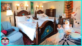 หนูยิ้มหนูแย้ม   เที่ยวฮ่องกงดิสนีย์แลนด์ EP2   พักโรงแรม Frozen เอลซ่าอันนา
