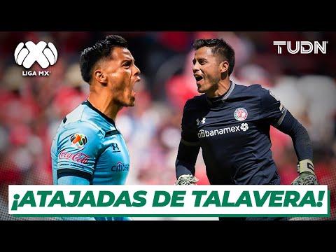 ¡Espectaculares! | Grandes atajadas de Alfredo Talavera con Toluca | TUDN