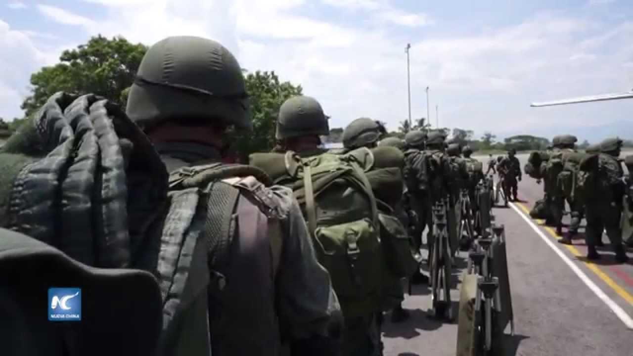 Resultado de imagen para Venezuela refuerza su presencia militar en la frontera con Colombia