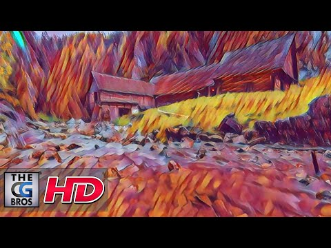 "CGI Experimental Short Film: ""Land Of Colors"" - by Juraj Tomori"