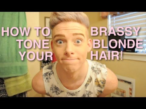 how to tone your hair doovi