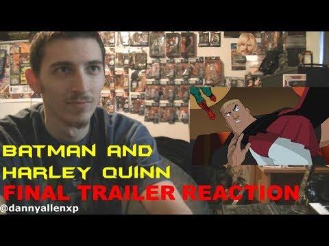 Batman and Harley Quinn Final Trailer REACTION