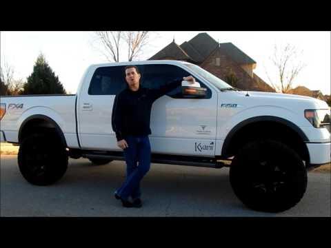 Anthony Liles Kyani Dream Car Program - F150 Truck - Team Fusion