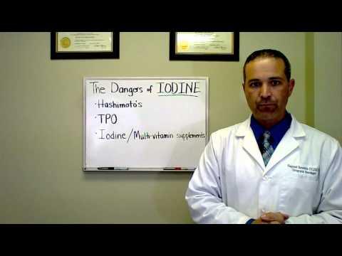 The Dangers Of IODINE