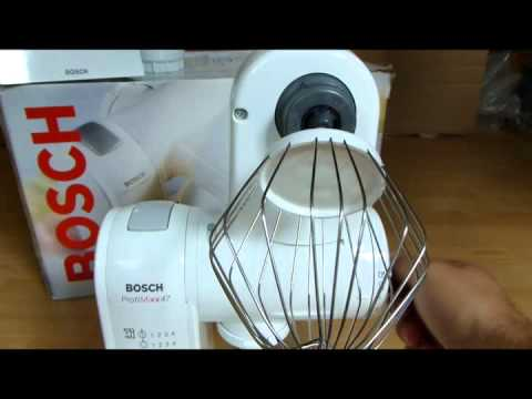 Bosch ProfiMixx 4701 - YouTube