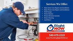 RightNOW Plumbing | Fredericksburg VA Plumbing Contractors