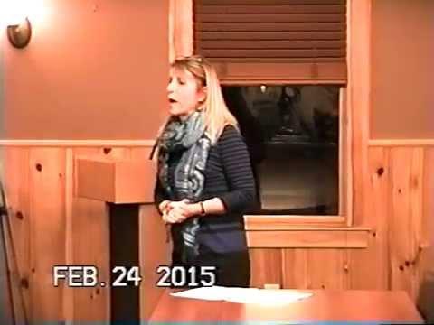 Tewksbury, MA Board of Selectmen's Meeting Feb. 24, 2015: Part 1 of 3